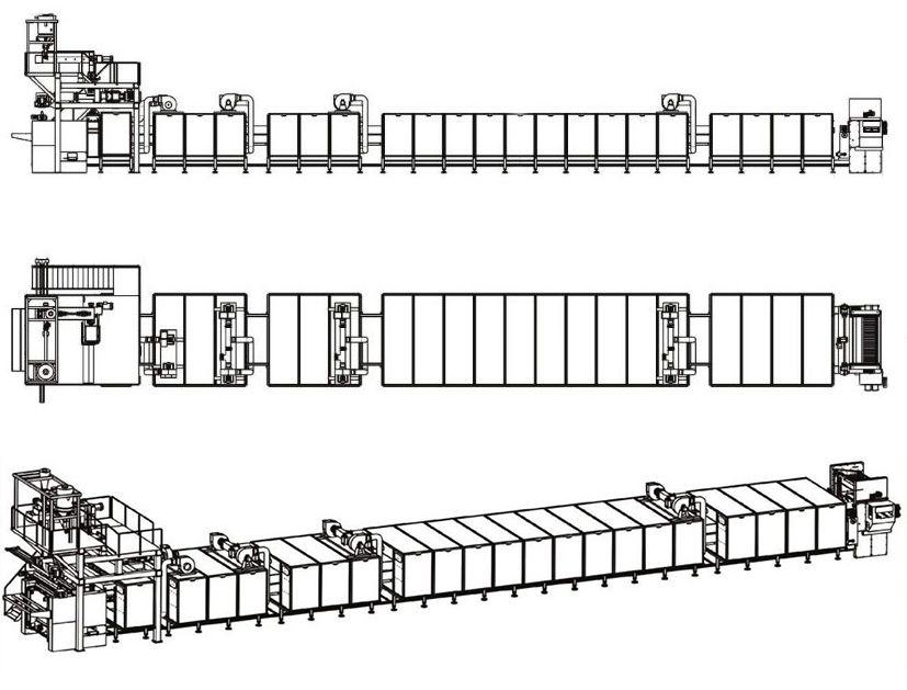 PPL Long-Cut Pasta Production Line Detail 1